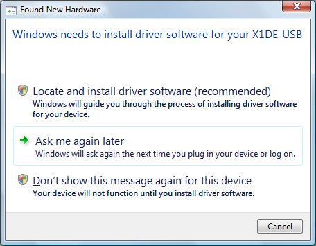 Samsung SFD-321U / Iomega USB Driver