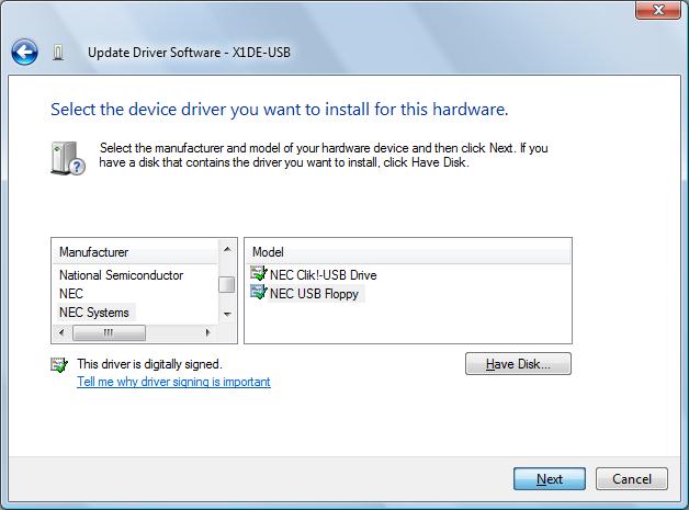 Samsung SFD-321U/EP USB Driver
