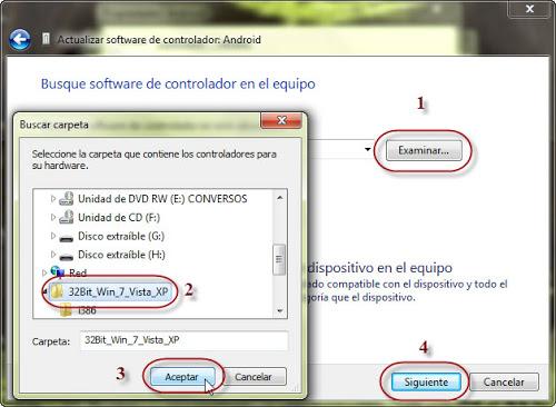 Install ADB interface driver Xperia   USB Driver