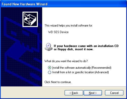 WD SES Device USB Driver Error | USB Driver