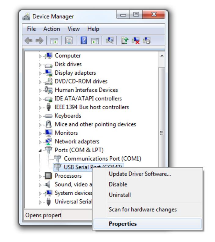 COM/UART device